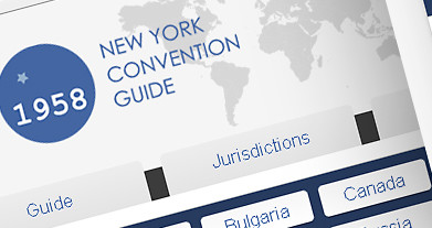 Adoption of the New York Convention on the Recognition and Enforcement of Foreign Arbitral Awards Convention