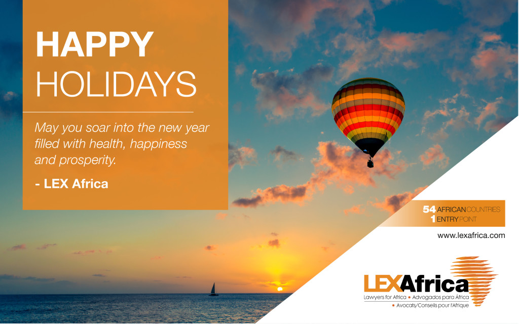 Happy holidays from LEX Africa!