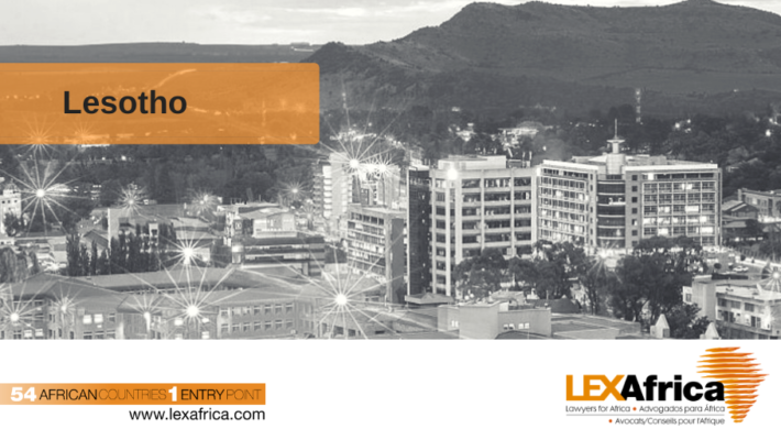 A new horizon for debtors and credit providers in Lesotho