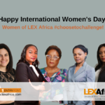 The women of LEX Africa choose to challenge this International Women's Day!